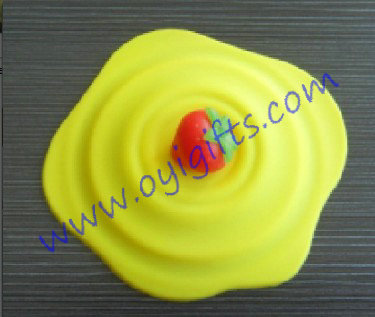 strawberry silicon cup cover