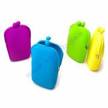 New design silicone Cosmetic case and bag,Phone bag and case,key pouch