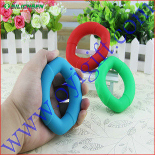Rubber Grip Hand finger Gripper Device Ring Grip Strength Power Training