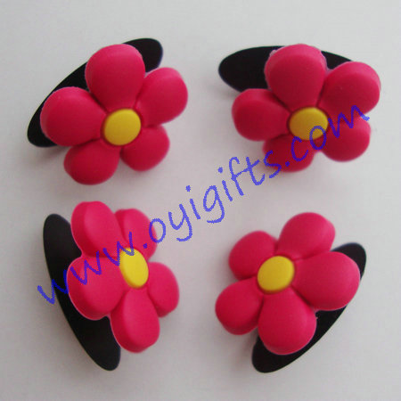 flower shoes buckles