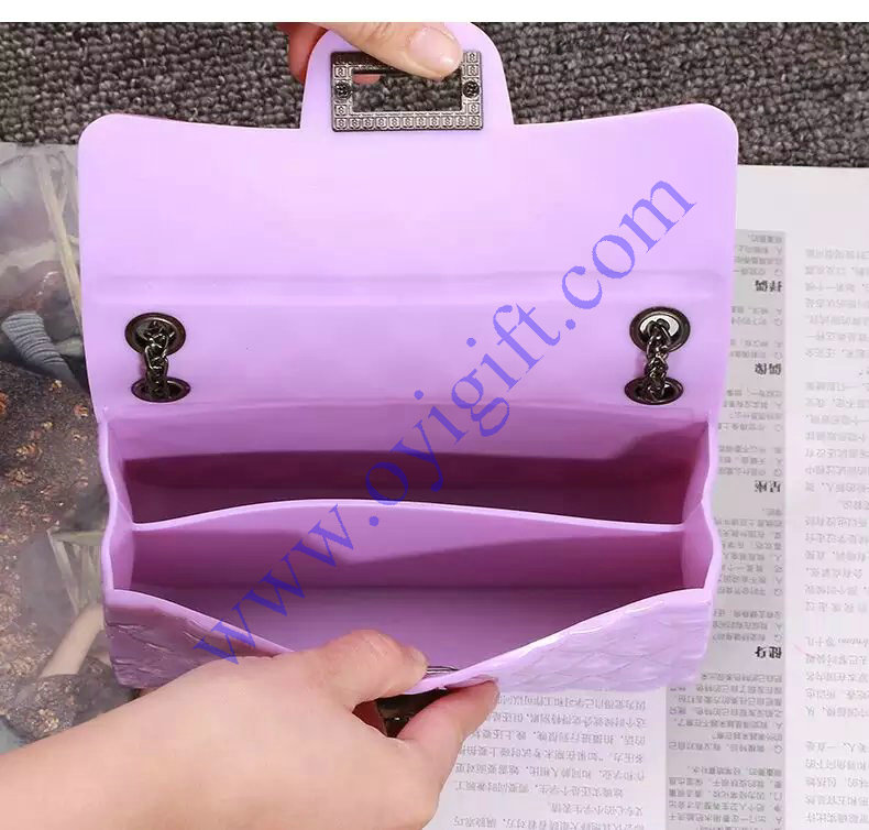 New silicone candy bag shoulder package