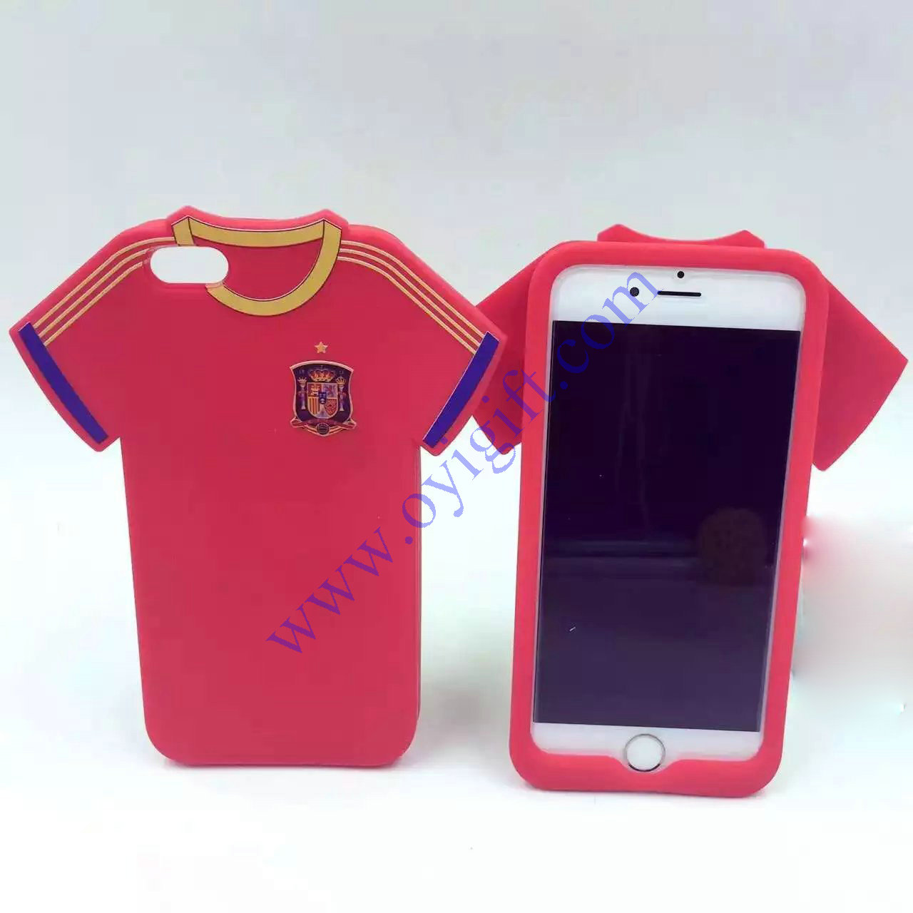 Sport shirt silicone phone Case soft skin covers