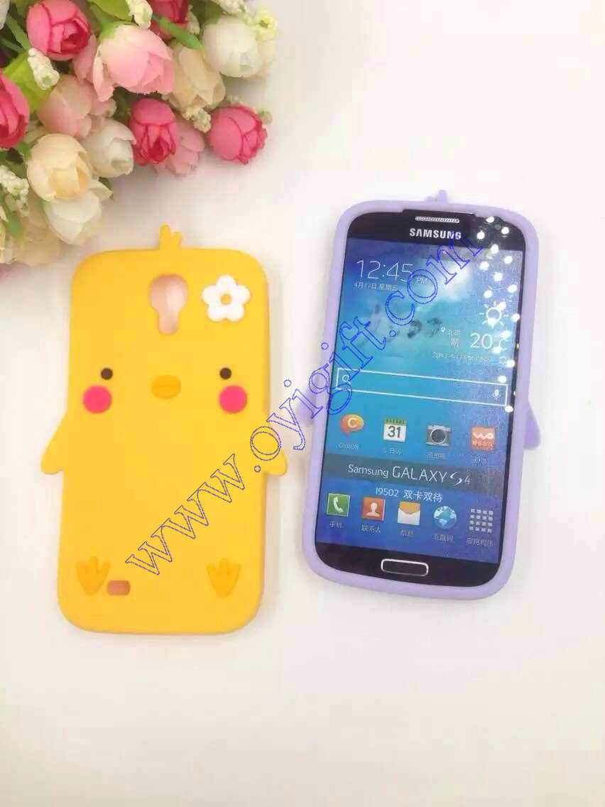 Chicken Duck Silicone Birds Gel phone cases