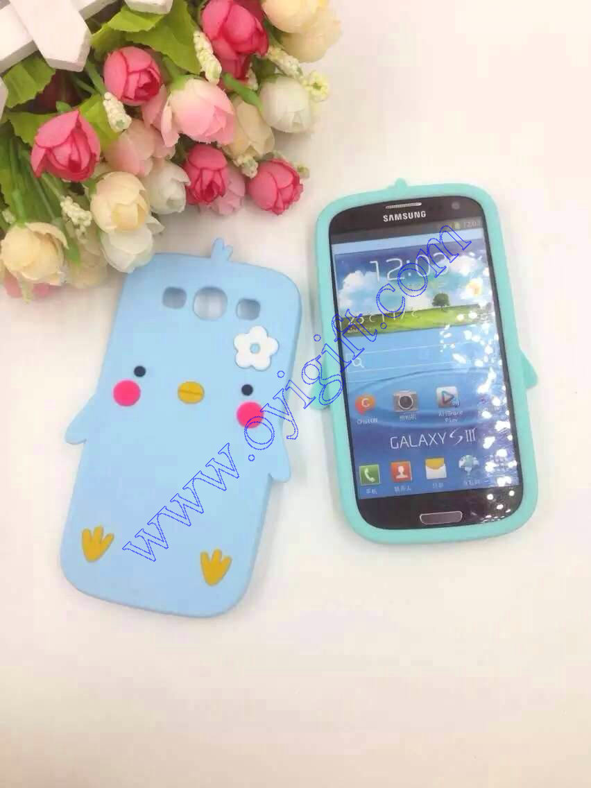 Little Chicken Silicone Birds Gel phone cases