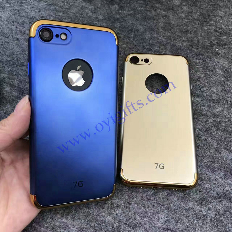 Plating 3 in 1 TPU Cell Phone covers