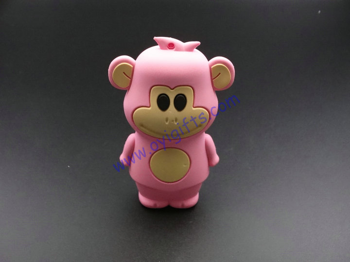 Cute monkey Portable Phone USB charger Power Bank
