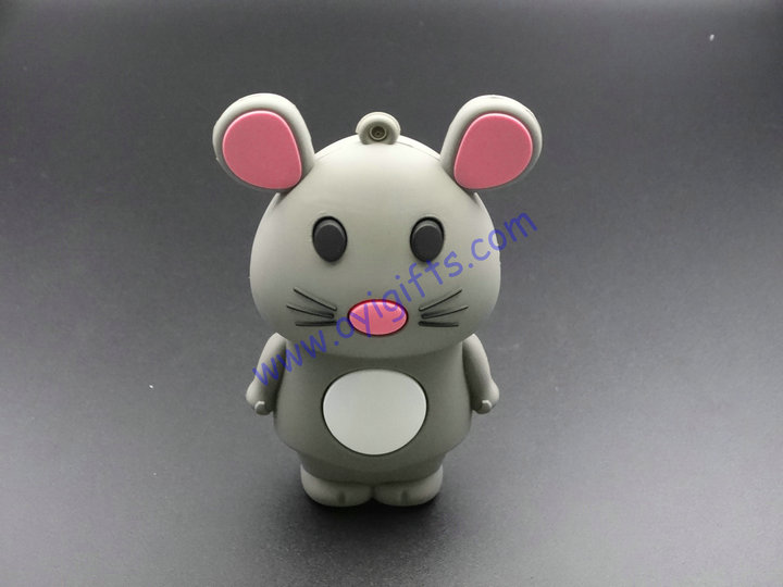 Cute mouse Portable Phone USB charger Power Bank