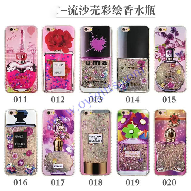 Fashion Quicksand styles TPU mobiephone covers