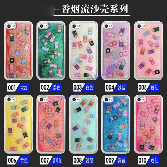 Quicksand soft TPU liquid glitter phone covers