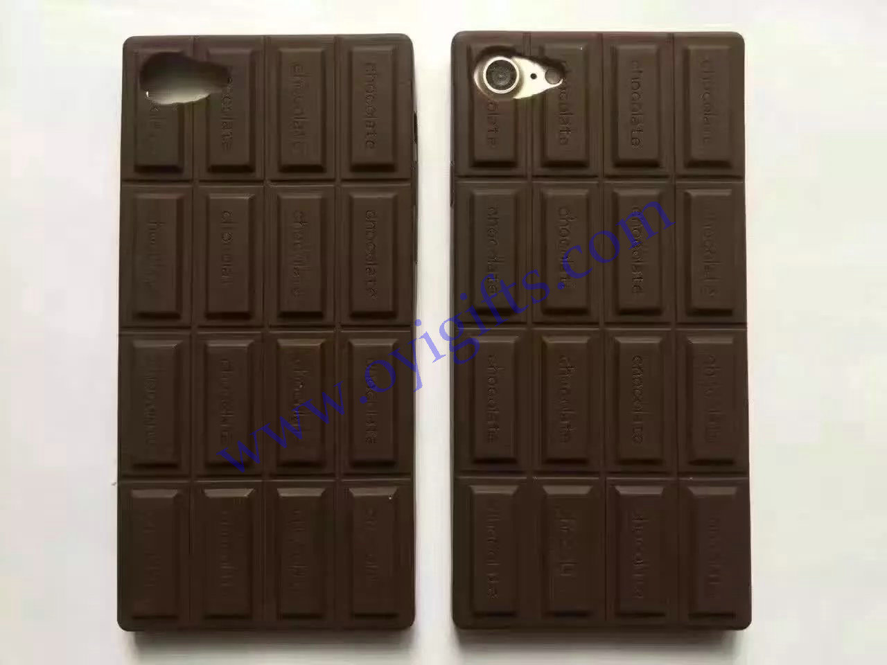 Love Chocolate Silicon phone covers case soft skin