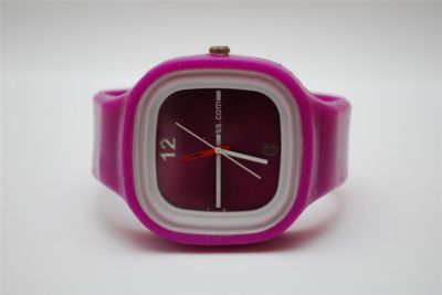 Fashion jelly silicone watch