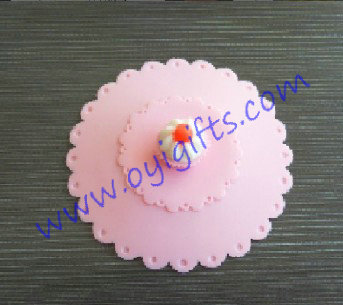 Cake silicone cup lid