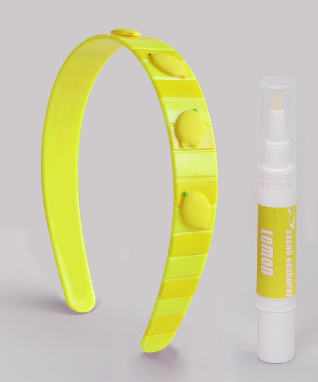 Lemon scent headband for kids
